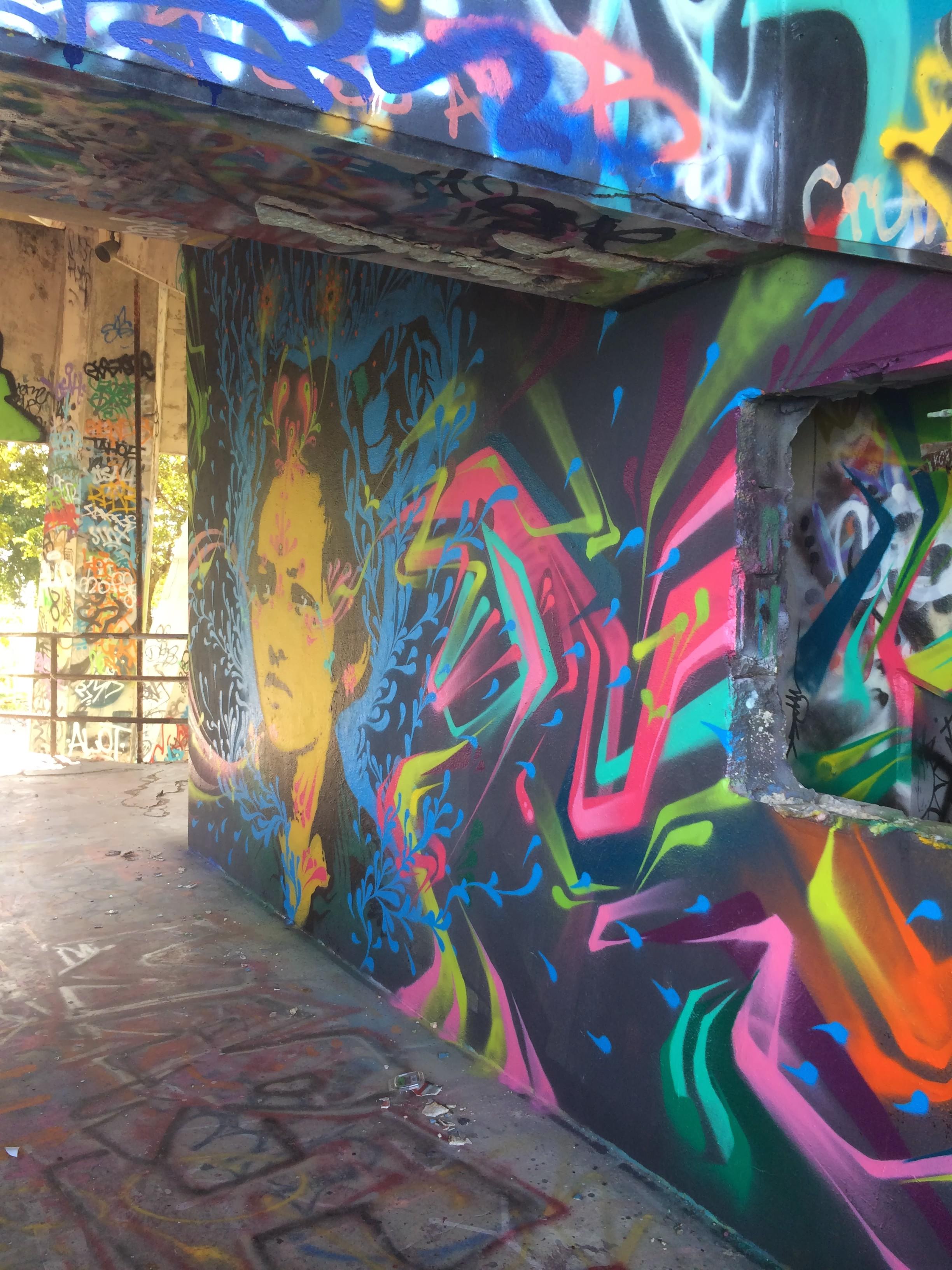 stinkfish- miami marine stadium mural project (part 1)